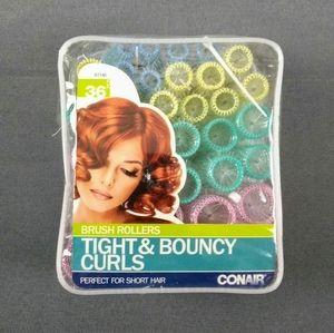 Conair brush rollers for short hair